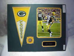 Green Bay Packers Aaron Rodgers Photo, Nameplate, Pennant And Pin Collage 16x20