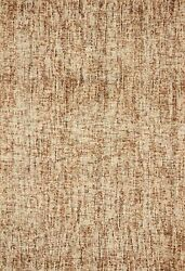 7and039 9 X 9and039 9 Loloi Rug Harlow Rust Charcoal 100 Wool Pile Power Loomed