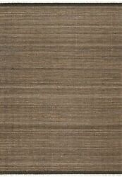 9and039 3 X 13and039 Loloi Rug Omen Mocha 53 Jute 38 Wool 8 Cotton 1 Other Fiber Powe