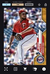 [digital Card] Topps Bunt - Michael Pineda Physical Base Series 1 Gold Uncommon