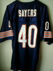 Mitchell And Ness Throwback Jersey -gale Sayers Hof Patch 1977