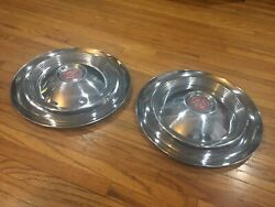 55 56 57 Packard Clipper Hubcap 15 Wheel Covers Set Of Two