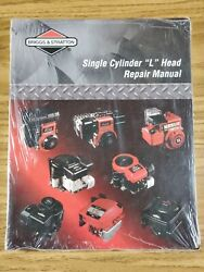 Briggs And Stratton Single Cylinder L Head 1981- Engine Service Repair Manual '00