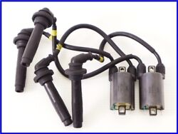 1996 Kawasaki Gpz1100 Water Cooling Genuine Ignition Coil And Plug Cord Yyy