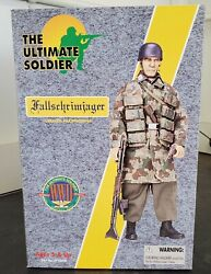 Ultimate Soldier 12 1/6 Scale Figure Wwii German Paratrooper Fallschrimjager