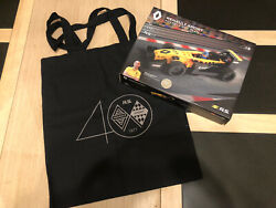 Lego Renault 1/1000 Rs17 Speed Champions Style Team Gift Bnib With Event Bag