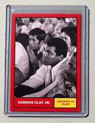 2021 Topps Muhammad Ali - The Peopleandrsquos Champ Card 2 Red Parallel 9/10