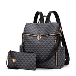 Backpacks for Women Fashion Leather Bags Girl#x27;s Anti theft Rucksack Ladies Bags $36.27