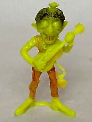 Vintage 60s Mpc Uglies/ Marx Nutty Mads - Rock'in Ronnie Toy Figure Rare Yellow
