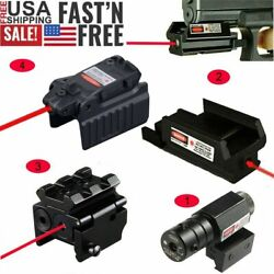 Compact Tactical Red Dot Laser Sight For 20mm Picatinny Weaver Rail Mount Pistol