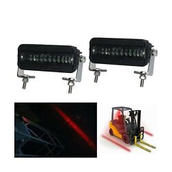 Movotor Forklift Safety Light Cree Led Red Zone Warehouse Pedestrian Warning ...