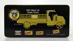 1927 Mack Ac Kent Feeds Stake Truck First Gear 24k Gold Plated Limited Edition