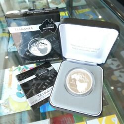 2006 Australia 5 Silver Proof Coin 150 Years State Government - Tasmania
