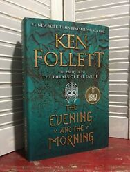 SIGNED THE EVENING AND THE MORNING by Ken Follett 2020 Hardcover $90.00