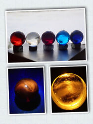 Marbles Rare Collection Big Christensen Agate Uv Clearie Sleeping Red Devil Look