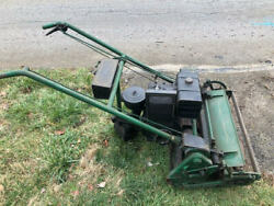 Locke Lawn Mower -vintage-circa 1960 No Wings Us Made -striped Lawns Are Cool