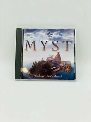 Myst Computer Game Windows And Strategy Guide