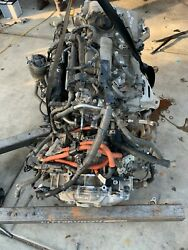 2010-2015 Toyota Prius 1.8l 92k Miles Engine With Transmission Assembly Oem
