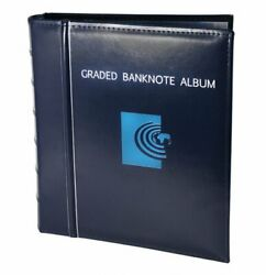 New Banknote World Graded Banknote Album Currency Collecting A.5 Album Pages