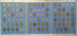 59 Coin Set 1909-1940 Lincoln Wheat Penny Cent - Early Dates Collection  530