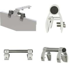 Pontoon Boat Rail Adapter For Portable Grills