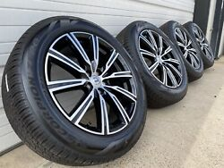 Volvo Xc60 2010-up 19 Inch Wheels And Tires Take Offs Black And Polished Oem New