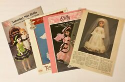 9 Crochet Doll Clothes Patterns For 15 Porcelain Look Fashion Doll -not Barbie