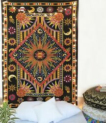 Boho Tapestry Indian Wall Hanging Beach Mat Decor Throw Blanket Twin Tapestries