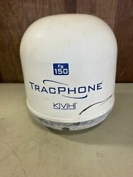 Kvh Fb150 Tracphone Sys. Antenna, P/n 01-0319, 120401347 Used