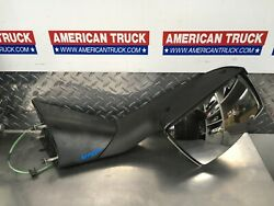 04-15 Hood Mirror Assy Volvo Vnl Right Passenger Manual Chrome Front Side View