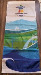 Official Vancouver 2010 Olympic Autographed John Furlong Banner Event Used Rare