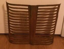 Antique Tractor Grill Primitive Decor Salvage 20 Tall Parts Collectible Art
