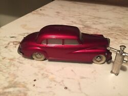 Very Nice Gorgeous And Original Vintage Wind Up Car It Is All Original