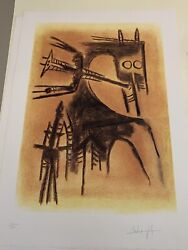 Wilfredo Lam Original Lithograph Signed / Numbered Prints