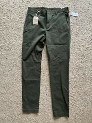 Brooks Brothers Slim Fit Chinos 33/34 New With Tags