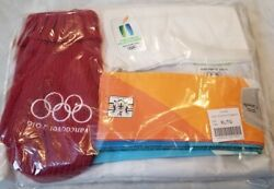 Rare - New Vancouver 2010 Olympic Torch Relay Full Suit Set - Non-retail Size Xl