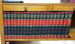 Vintage 1959 Collier's Encyclopedia 20 Volume Set History Beautiful Condition