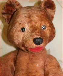 Gorgeous Loved 1925 Huge 2050 Cm Teddy Bear From My Grandmother Collection