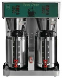 Brand New Newco 701238 Cbd-1.5 Dual Commercial Barista Coffee Brewer