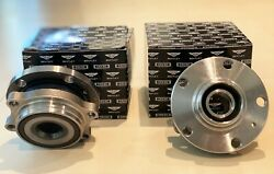 Bentley Gt Gtc And Flying Spur Wheel Hub Bearing 3w0407613e - Set Of Two