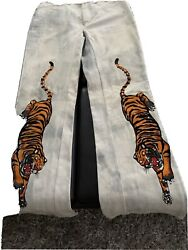 Faded Glory Tiger Bell Bottoms Very Rare Vintage Size 31/11