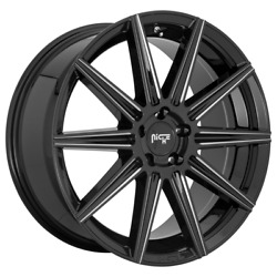 20 Niche Tifosi 242 Rims For Awd Dodge Charger Challenger C300 Nissan Toyota