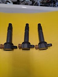 Set Of 3 Seadoo Ignition Coil Stick Fits All Spark 900 Ace, Rxp Rxt Gtx 300 Hp
