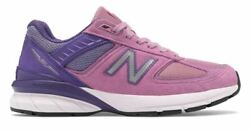 New Balance 990v5 Made Usa Running Shoes Prism Purple Pink W990nx5 Womens 8 Ds
