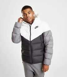 Menandrsquos Nike Windrunner Down Fill Hooded Puffer Jacket Coat All Sizes Cu0225-100