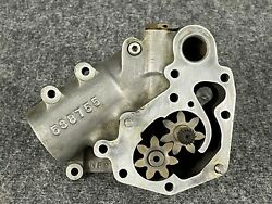 Tcm Continental Oil Pump Housing With Gears 538755 Or 632563