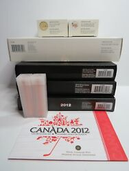2012 Canada Farewell To The Penny Adieu Collection Gold Silver