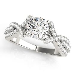 1.00 Ct Real Diamond Wedding Ring For Ladies Solid 950 Platinum Rings Size 8 9.5
