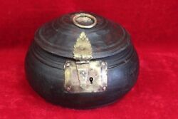 Wooden Brass Case Box New Antique Home Decor Collectible Christmas Gifts Pl-39
