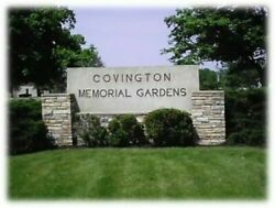 Two 2 Covington Memorial Gardens Cemetery Grave Spaces Fort Wayne, Indiana